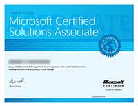 Сертификат MCSA: Windows Server 2012